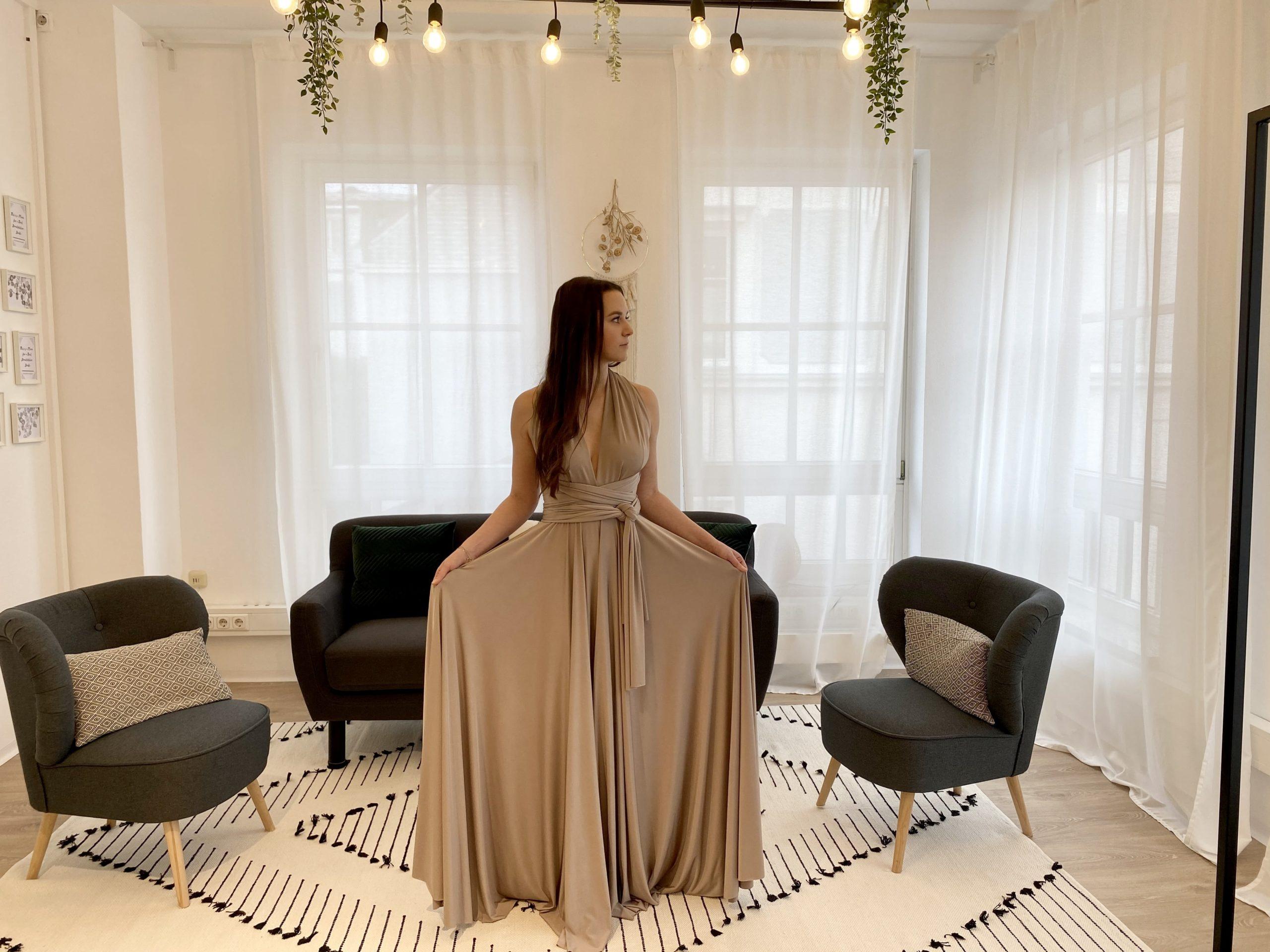 brautatelier ried-brautjungfernkleider-bridesmaids-two birds ny-long dress-putty-vorne-1