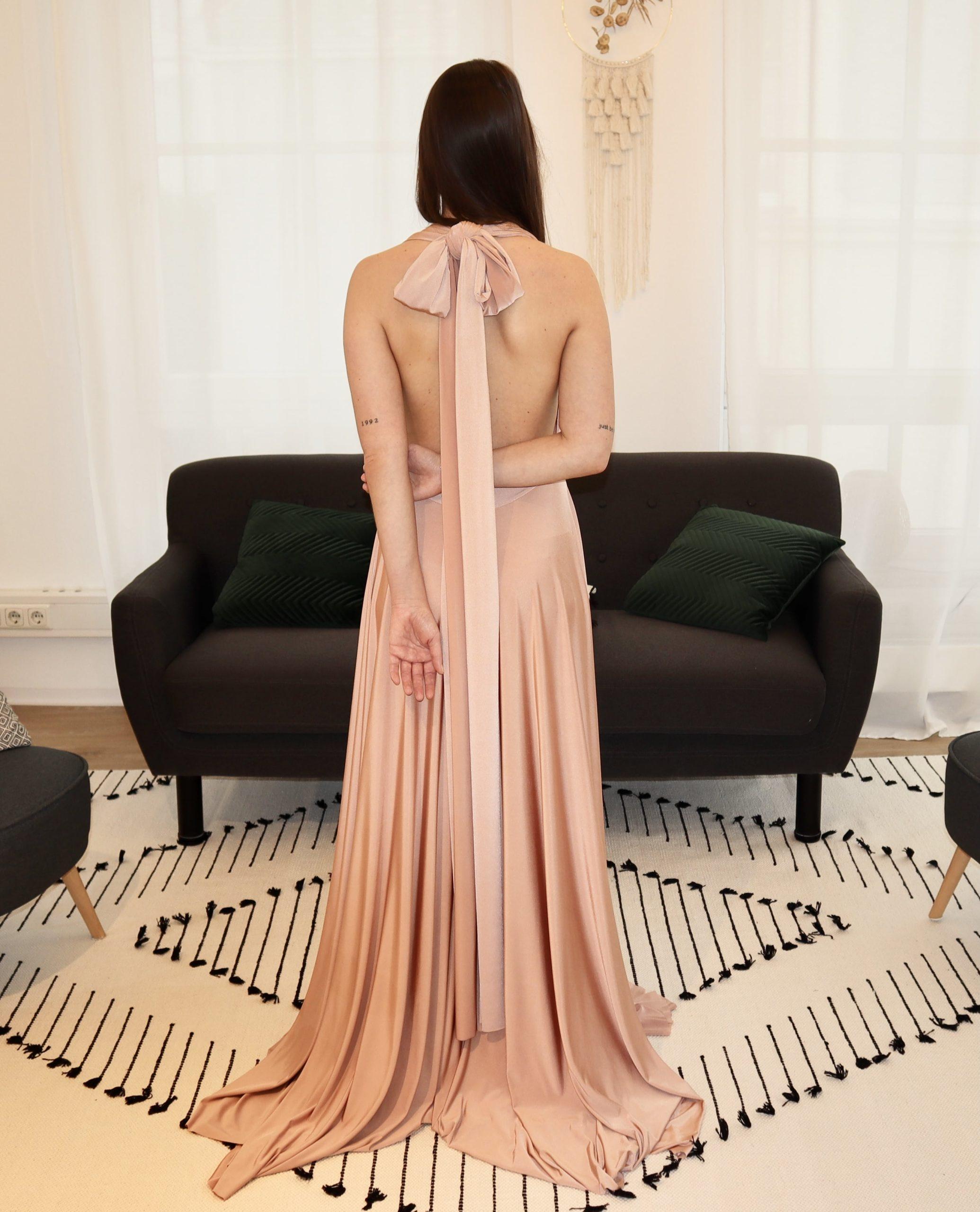 brautatelier ried-brautjungfernkleider-bridesmaids-two birds ny-long dress-rosewood-ruecken-1